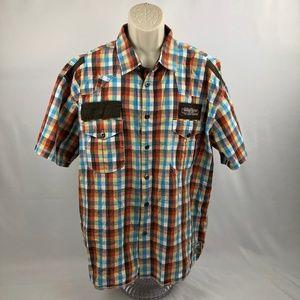 Parish Nation SS Button Down Shirt 3XL